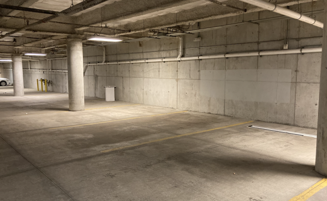 Indoor lot parking on Center Drive in Park City