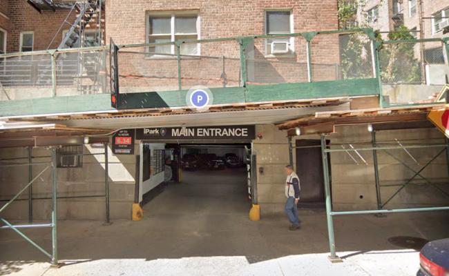 Garage parking on Concourse Village West in The Bronx