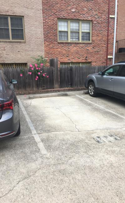 Outdoor lot parking on Corcoran St NW in Washington