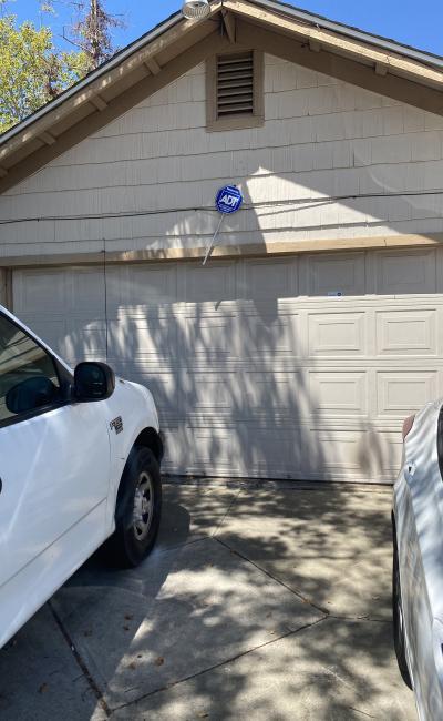 Garage parking on Countryfield Drive in Sacramento