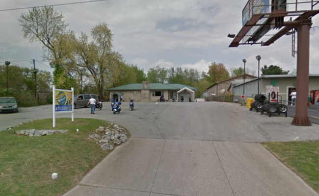 parking on Covert Avenue in Evansville