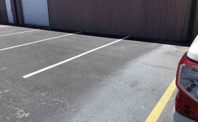 Outside parking on Douglas Road East in Oldsmar