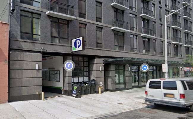 Garage parking on E 121st St in Manhattan