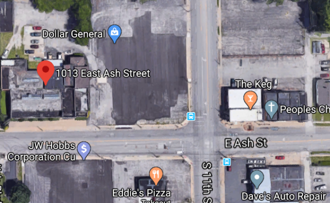 parking on E Ash St in Springfield