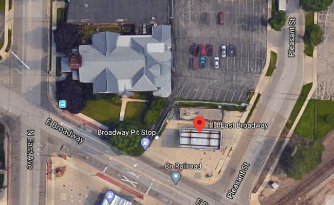 parking on East Broadway Street in Waukesha