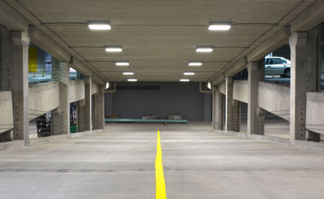 Indoor lot parking on East Lancaster Avenue in Reading