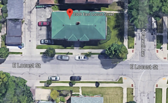 parking on East Locust Street in Milwaukee