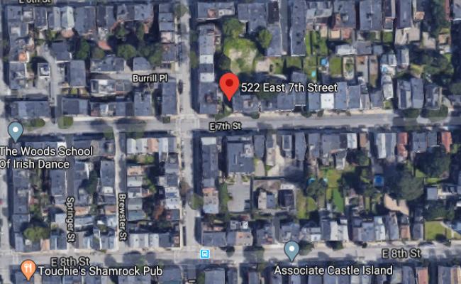 parking on East Seventh Street in Boston