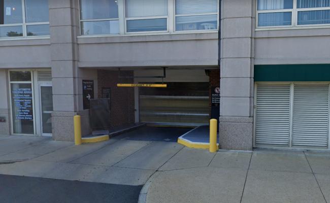 Garage parking on Eighth Street in Charlestown