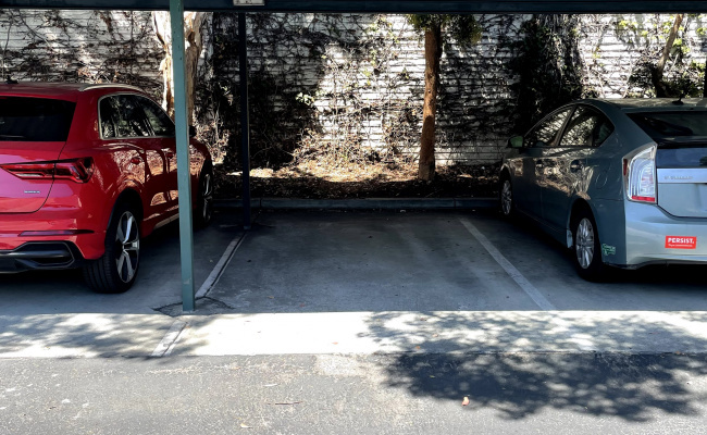 Covered parking on Elm Court in Sunnyvale