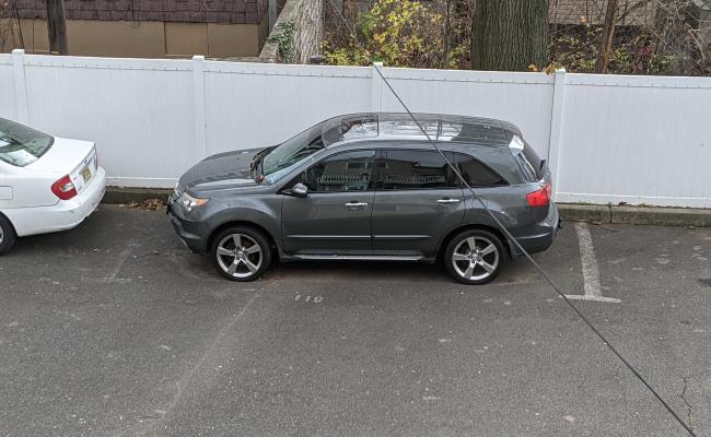 parking on Garside Street in Newark