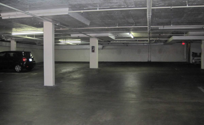 Indoor lot parking on Gayley Ave in Los Angeles