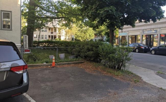 Outside parking on Hamilton Road in Brookline