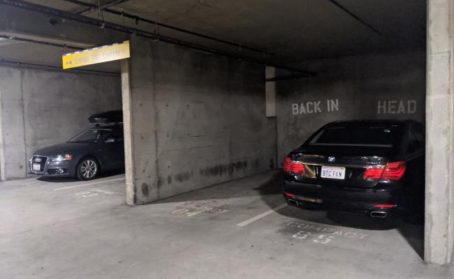 Garage parking on Harrison Street in San Francisco