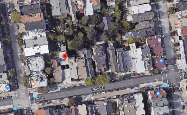 parking on Hayes Street in San Francisco
