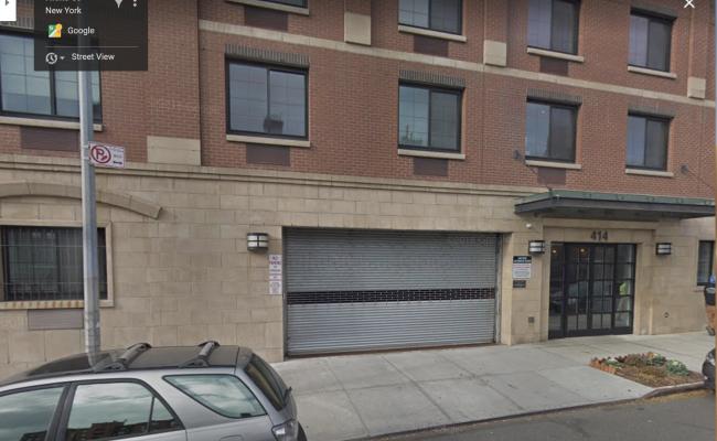 Garage parking on Hicks Street in Brooklyn
