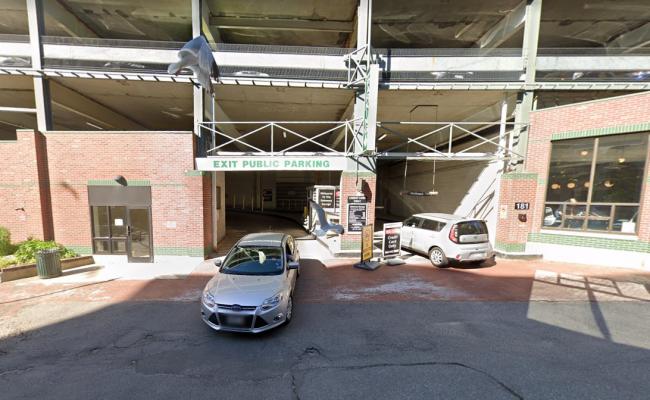 Garage parking on High Street in Portland
