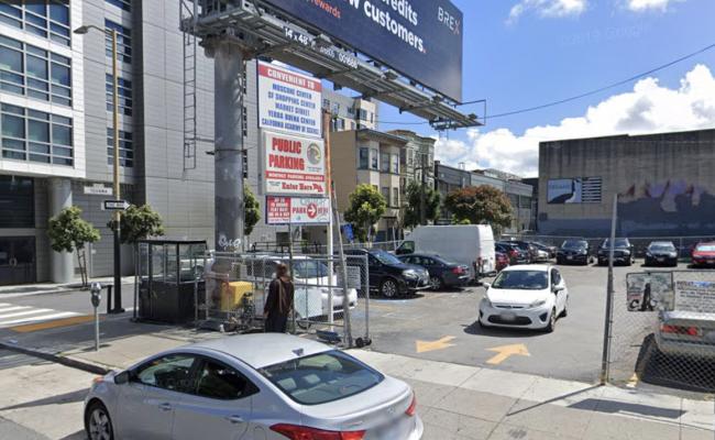 Outside parking on Howard Street in San Francisco