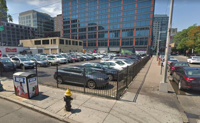 Outside parking on Jersey Street in Boston