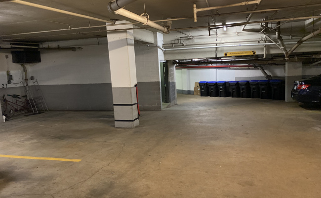 Garage parking on L Street Northwest in Washington