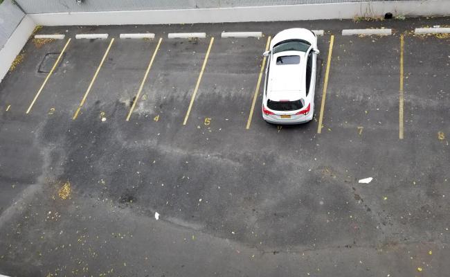 Outside parking on Lexington Avenue in Brooklyn