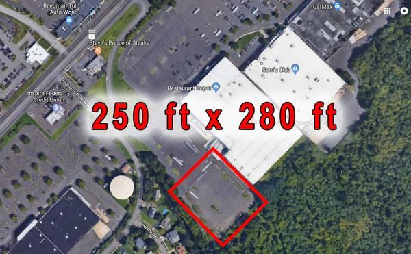 parking on Lincoln Hwy in Langhorne