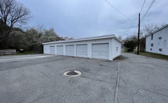 Garage parking on Lowell Street in Methuen