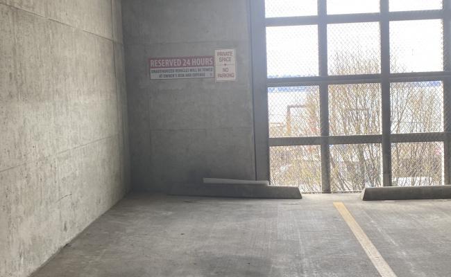 Garage parking on Madison Street in Seattle