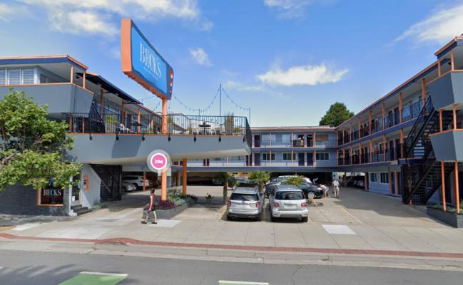 Outside parking on Market Street in San Francisco