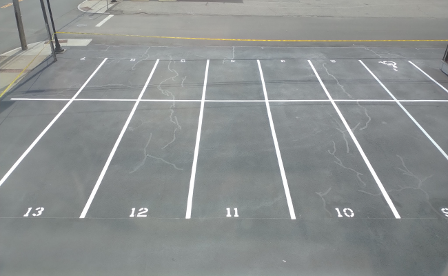 Outdoor lot parking on Mineral Spring Avenue in North Providence