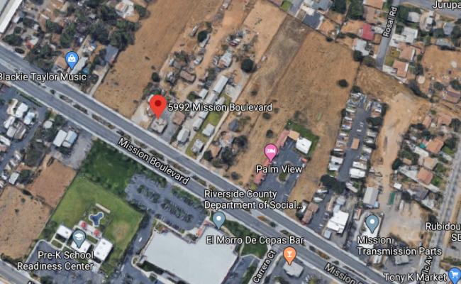 parking on Mission Boulevard in Riverside