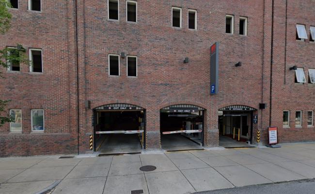 parking on Museum Road in Boston