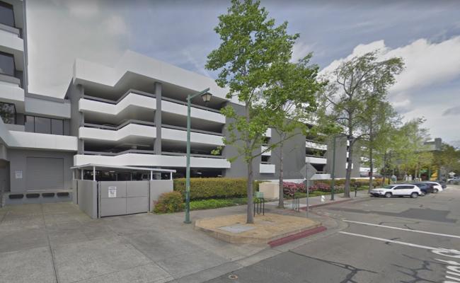 Indoor lot parking on N California Blvd in Walnut Creek