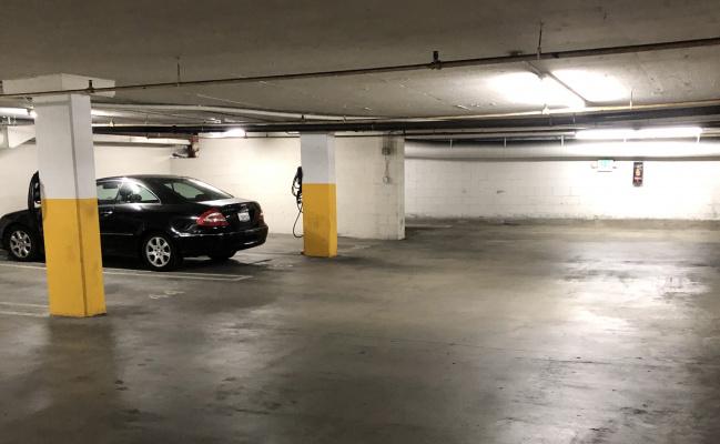 Indoor lot parking on N Las Palmas Ave in Los Angeles
