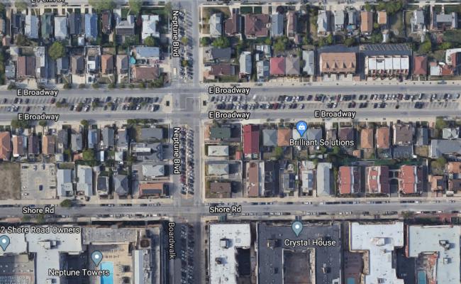 Covered parking on Neptune Blvd in Long Beach