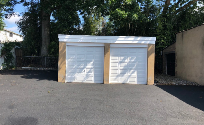 Garage parking on North Avenue in Garwood