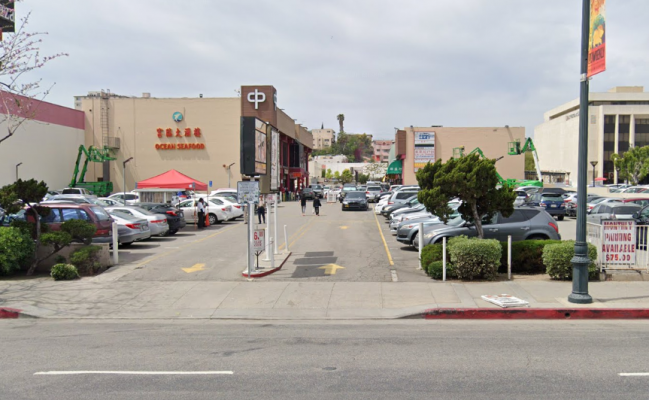 parking on North Broadway in Los Angeles