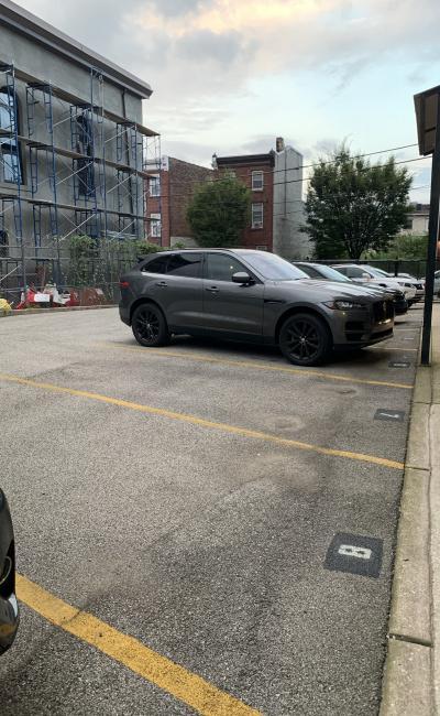 Outdoor lot parking on North Hancock Street in Philadelphia
