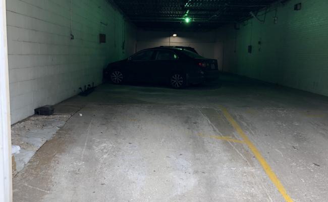 Garage parking on North Orleans Street in Chicago