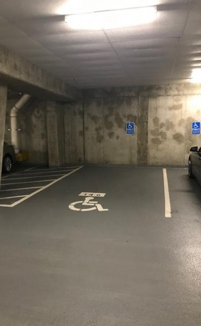 parking on North Pollard Street in Arlington County