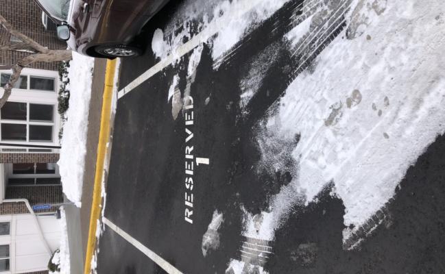 Outside parking on Northeast 3rd Avenue in Minneapolis