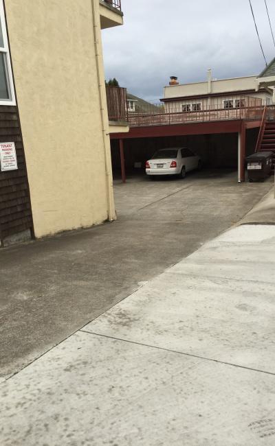 parking on Oxford Street in Berkeley