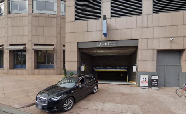 parking on Purchase Street in Boston