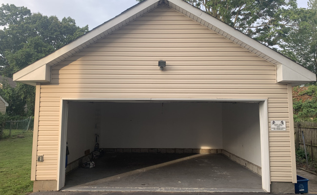 Garage parking on Rock Avenue in Piscataway
