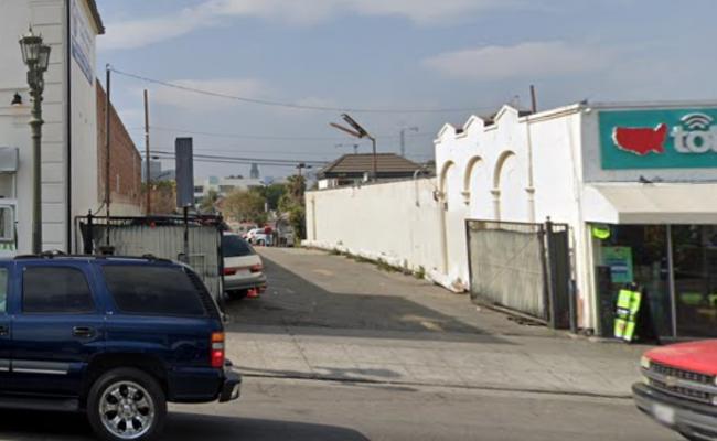 Outside parking on S Alvarado St in Los Angeles