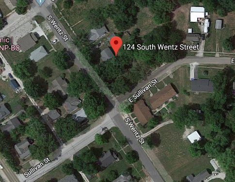 parking on S Wentz St in Montgomery City