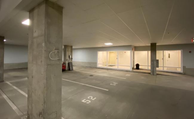 Garage parking on Savoy Street in Boston