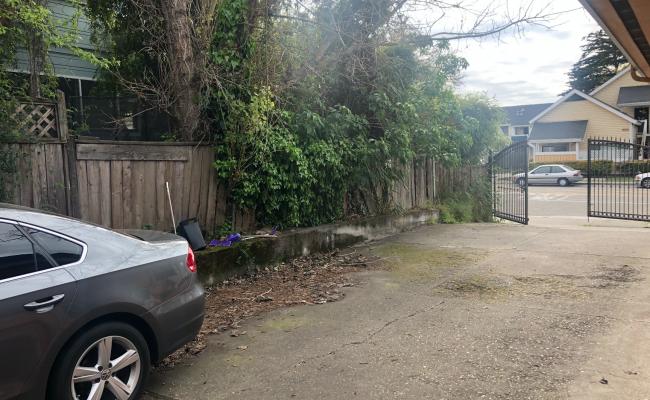 Driveway parking on Sixth Street in Berkeley