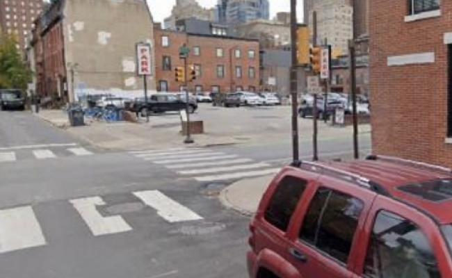 Outdoor lot parking on South 17th Street in Philadelphia