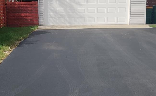 parking on South Buffalo Grove Road in Buffalo Grove